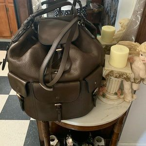 Brown Burberry large bag